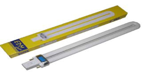 LAMPARA PL-11W LUZ CALIDA 3200K 236X105MM