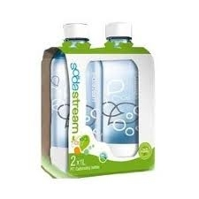 PACK 2 BOTELLAS DE PLASTICO(PET)REUTILIZABLES SODASTREAM