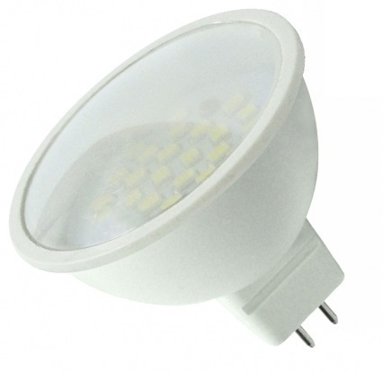 LAMPARA DICROICA MR16 12V 5W 12 LED FRIA